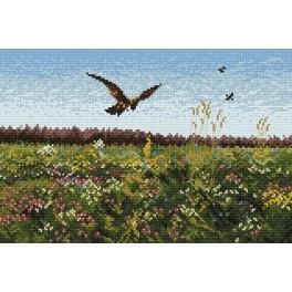 GC 4010 Cross stitch pattern - Hawk