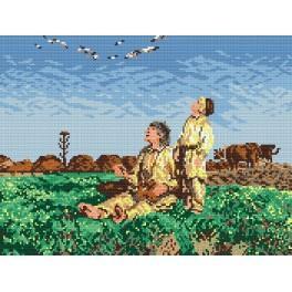 GC 267 Cross stitch pattern - Storks