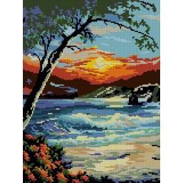 Sunset - Cross Stitch pattern