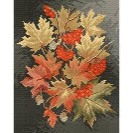 GC 4017 Cross stitch pattern - Autumn leaves