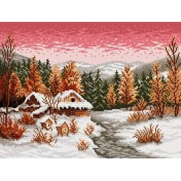 Winter evening - Cross Stitch pattern