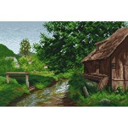 Cottage in the countryside - Cross Stitch pattern