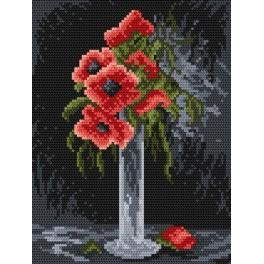 Poppies - Cross Stitch pattern