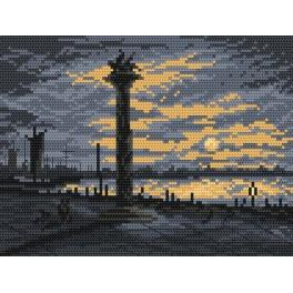 Venecian evening - Cross Stitch pattern