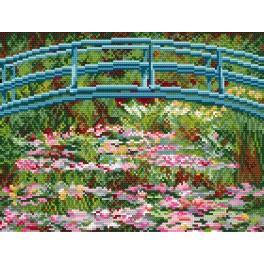 GC 4274 Cross stitch pattern - Water lilies - C. Monet