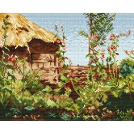 Mallows in sun - J. Stanislawski - Cross Stitch pattern