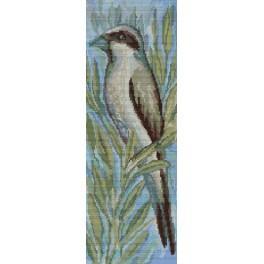 A. Śliwa-Klara - Bird in the scrubs - Cross Stitch pattern