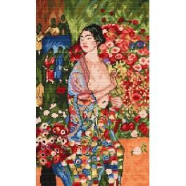 G. Klimt - The dancer - Cross Stitch pattern
