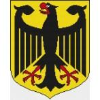 German Coat of Arms - Cross Stitch pattern