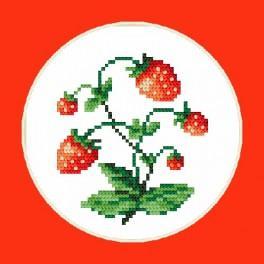 Sweet strawberies - B. Sikora-Malyjurek - Cross Stitch pattern