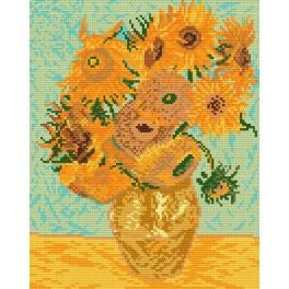 GC 450 Cross stitch pattern - Sunflowers - V. van Gogh