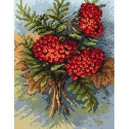 Autumn rowan - Cross Stitch pattern