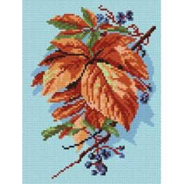 Autumn leaves - Cross Stitch pattern