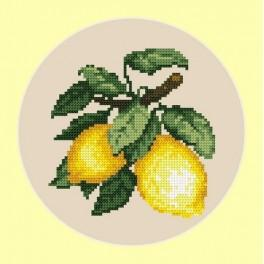 Appetizing lemons - B. Sikora-Malyjurek - Cross Stitch pattern