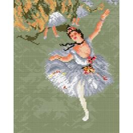 GC 472 Cross stitch pattern - Star - E. Degas