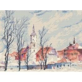 City view - K. Starowicz - Cross Stitch pattern