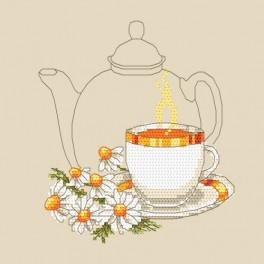 Chamomile tea - Cross Stitch pattern