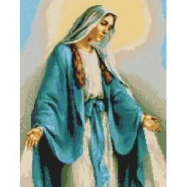 Our Lady of Miraculous Medal - Cross Stitch pattern