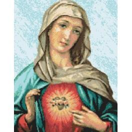 Immaculate Heart of Mary - Cross Stitch pattern