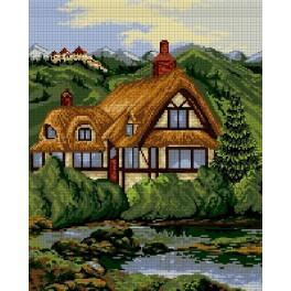 By the shore - Cross Stitch pattern