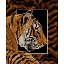Tiger - Cross Stitch pattern