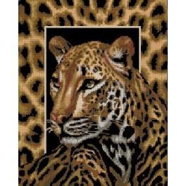 Leopard - Cross Stitch pattern
