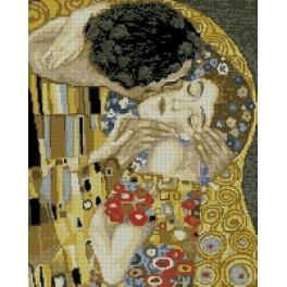 G. Klimt - The kiss - Cross Stitch pattern