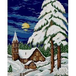 Winter evening - Cross Stitch pattern