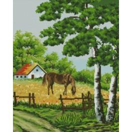 In the pasture - Cross Stitch pattern