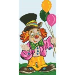 Clown - Cross Stitch pattern