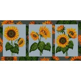 Sunflowers - Cross Stitch pattern