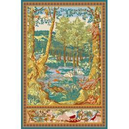 GC 702 Cross stitch pattern - Wawel arras