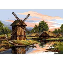 P. Gozdziewicz - Windmill - Cross Stitch pattern