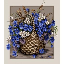 Forget-me-nots - Cross Stitch pattern