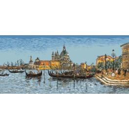 E. Boudin - Venice - Cross Stitch pattern