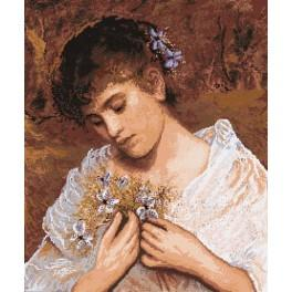 Sophie Anderson - In Love - Cross Stitch pattern