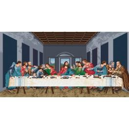 L. da Vinci- The Last Supper - Cross Stitch pattern