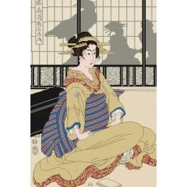 Geisha - Cross Stitch pattern