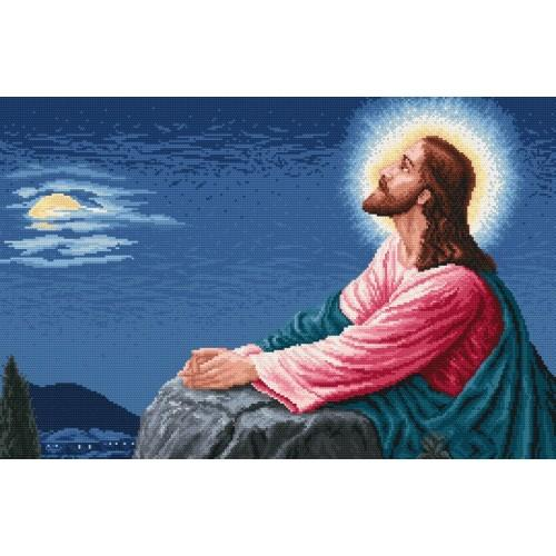 The prayer of Jesus - Cross Stitch pattern