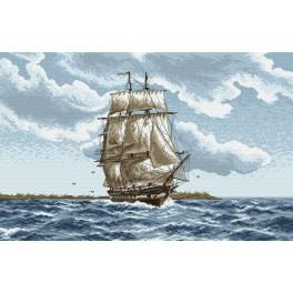 Cruise - Cross Stitch pattern