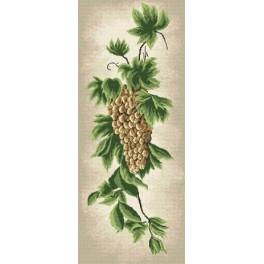 Twig of grape - Cross Stitch pattern