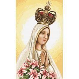 Our Lady of Fátima - Cross Stitch pattern