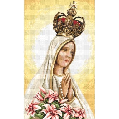 Our Lady of Fátima - Cross Stitch pattern