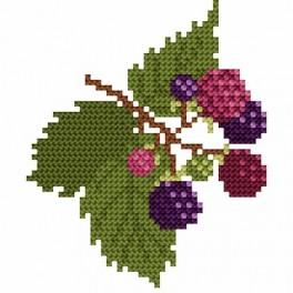 Blackberries - Cross Stitch pattern