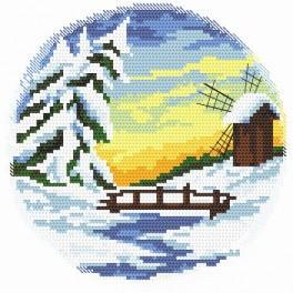 Four seasons - winter - Cross Stitch pattern