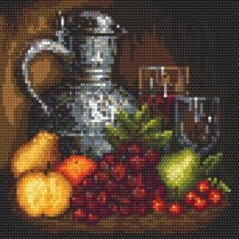 Still life with jag - Cross Stitch pattern