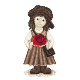 Gavroche girl - Cross Stitch pattern