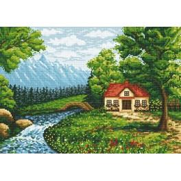 Secluded corner - Cross Stitch pattern