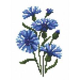 GC 8469 Cornflowers - Cross Stitch pattern