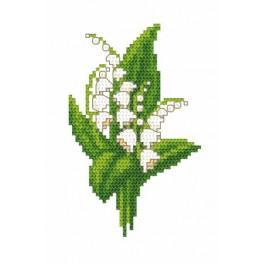 GC 8472 Lilies - Cross Stitch pattern